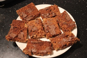 almond pulp bars