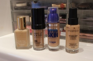 fave foundations for oily skin