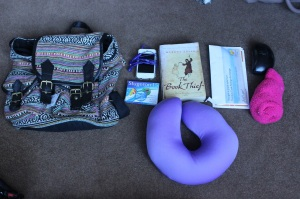 what I'm taking in my carry on bag (2)